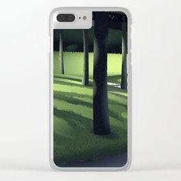 Undergrowth Path Clear iPhone Case
