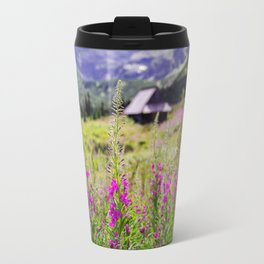 Fireweed In The Mountains Travel Mug