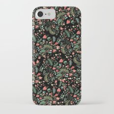 Floral Patern Slim Case iPhone 7