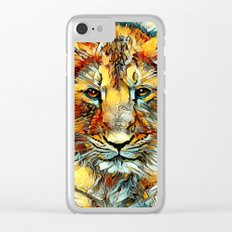 Animal_Art_Lion20161202_by_JAMFoto Clear iPhone Case