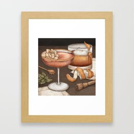 Cocktails Framed Art Print