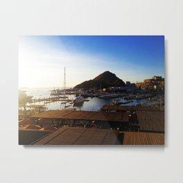 The Marina View - Cabo San Lucas Metal Print