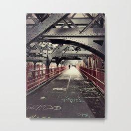 New York City Williamsburg Bridge Metal Print