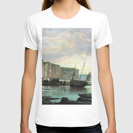 Normandy Beach 1859 By Lev Lagorio | Reproduction | Russian Romanticism Painter T-shirt
