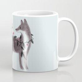 Squirrel and Fox Coffee Mug