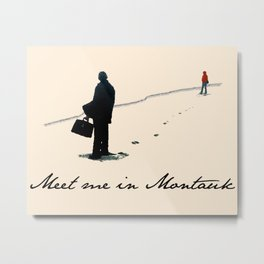 Meet Me In Montauk Metal Print