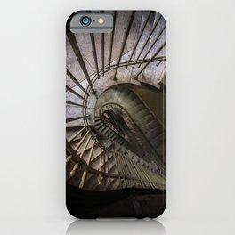 Teadrop staircase iPhone Case