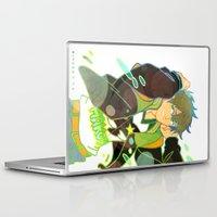 iwatobi Laptop & iPad Skins featuring Free! Club Makoto by Alyssa Tye