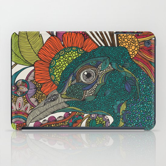 Alexis and the flowers iPad Case