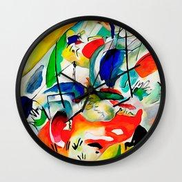 Kandinsky - Sea Battle Wall Clock