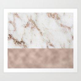 Monte Carlo marble Art Print