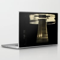 guitar Laptop & iPad Skins featuring guitar by Ingrid Beddoes
