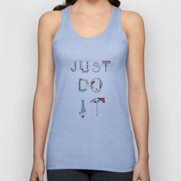 JUST DO IT Unisex Tank Top