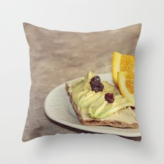 light snack Throw Pillow