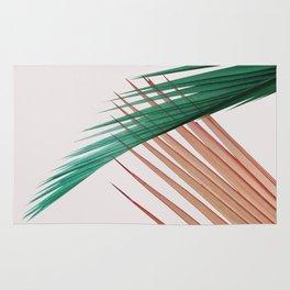 Palm Leaves, Tropical Plant Rug
