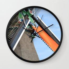 Windmill in Holland Wall Clock