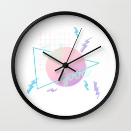 Neon Feels So Good Wall Clock