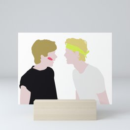 Evak - Neon Party Mini Art Print