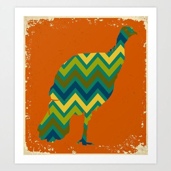 Wild Turkey 3 Art Print