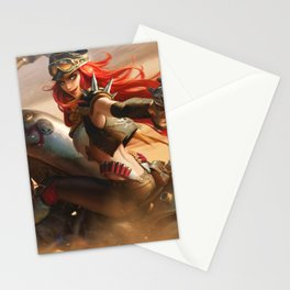 Road Warrior Miss Fortune League Of Legends Stationery Cards