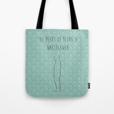 the perks of being a wallflower Tote Bag