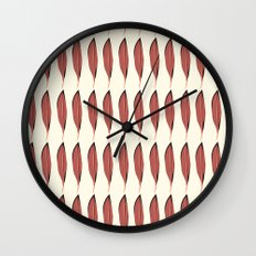Vintage feather  Wall Clock