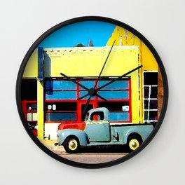 ABBOTT KINNEY TRUCK Wall Clock