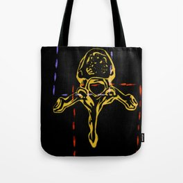 Thoracic Vertebrae 2 Tote Bag