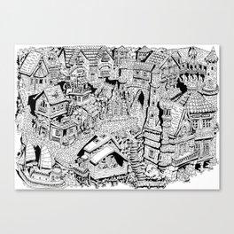Capharnaüm City Canvas Print