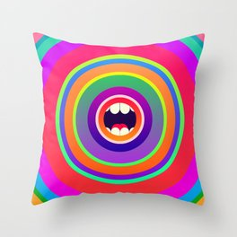 Jawbreaker Throw Pillow