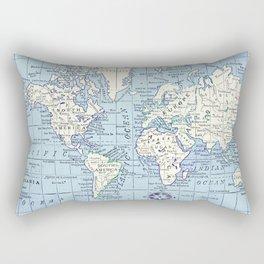 A Really Nice Map Rectangular Pillow