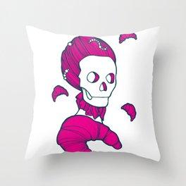 Let them eat brioche #02 Throw Pillow