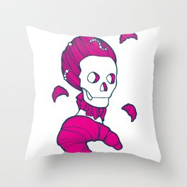 Let them eat brioche #02 Throw Pillow