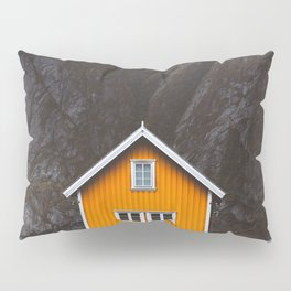 Yellow Cabin Pillow Sham