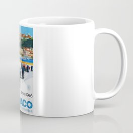 Gran Prix de Monaco, 1966, original vintage poster Coffee Mug