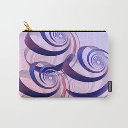 connected spirals Carry-All Pouch