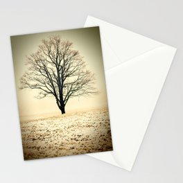 Standing In The Cold Stationery Cards