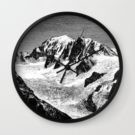 Existing Alpine Glacier Wall Clock