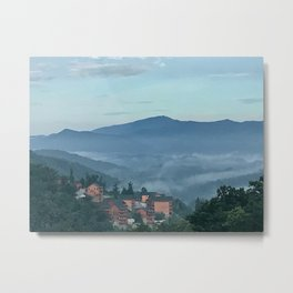 """""""Bittersweet View of Smoky Mountains"""" Photography by Willowcatdesigns Metal Print"""