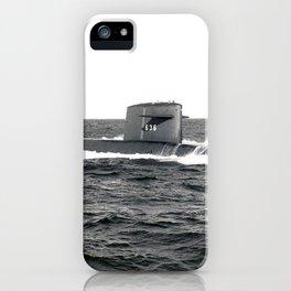 USS NATHANAEL GREENE (SSBN-636) iPhone Case