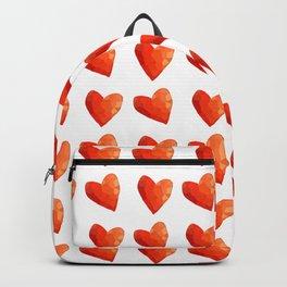 Red Heart Sprinkles Backpack