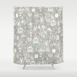 pencil pinatas Shower Curtain