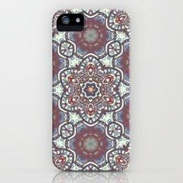 Mandala Of The Earth iPhone Case