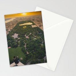Enjoying the sunset Stationery Cards