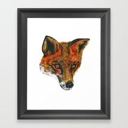 Foxy! Framed Art Print