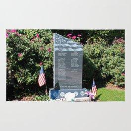 Hood Park Memorial -horizontal Rug