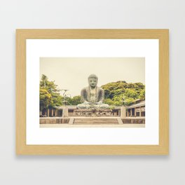 Big Buddha II Framed Art Print