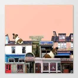 Shopkeepers Canvas Print