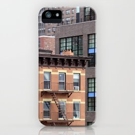 Buildings in NYC iPhone Case