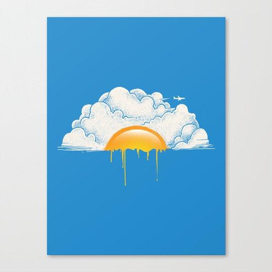 Breakfast Canvas Print